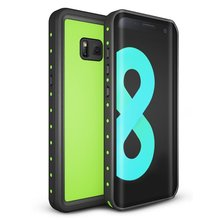 For Samsung Galaxy S8 IP68 Waterproof case Shock Dirt Snow Proof Protection for Galaxy S8 With Touch ID Case Cover Light green for galaxy s8 plus case shock dirt snow proof protection for samsung galaxy s8 with touch id cover
