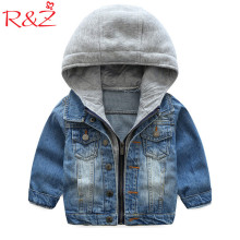 R&Z Baby Boys Coat 2019 New Spring Autumn Wash Soft Deni