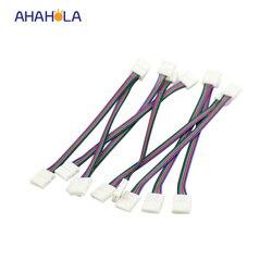 5050 4pin led strip rgb connector 4 pin 10mm led 5050 rgb strip light connectors extension.jpg 250x250