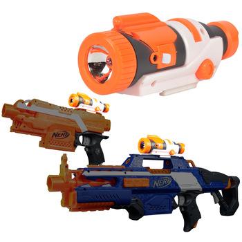 Taktyczny pistolet zabawkowy zmodyfikowany element części na naboje zabawkowe Nerf N-strike Kid Gun zabawki zabawa na świeżym powietrzu na pistolet Nerf modyfikacja tanie i dobre opinie 12-15 lat 5-7 lat 8-11 lat Mini Diecast for Nerf N-strick None Certyfikat Unisex Zabawka pistolet pistolet Normal Z tworzywa sztucznego