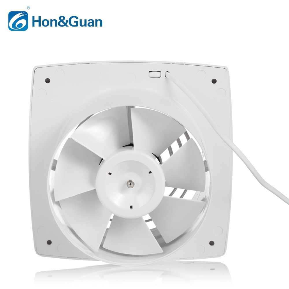 Hon&Guan 6'' Home Ventilation Exhaust Fan Ceiling and Wall Mount Fans for  Kitchen/Bathroom/Garage, Super Silent, High CFM