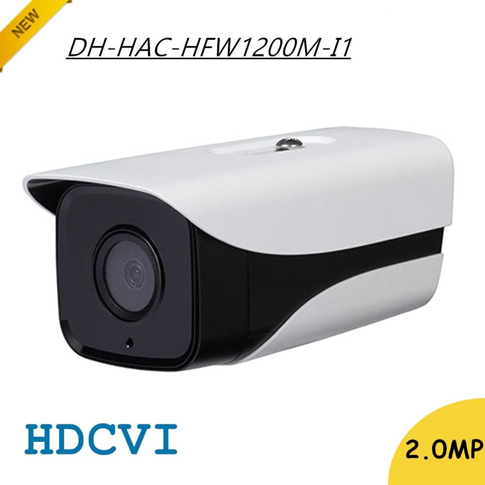 New Arrival DH 2Mp HDCVI Camera HD 1080P DH-HAC-HFW1200M-I1 Network IR Bullet Security CCTV Camera IP67 HAC-HFW1200M-I1 dahua outdoor indoor hdcvi camera dh hac hdw1100e 1mp hd network ir security cctv dome camera ir distance 40m hac hdw1100e ip67