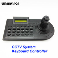 4 Axis 4KD Joystick CCTV Keyboard Controllers For Analog AHD PTZ Speed Dome Camera Support Pelco