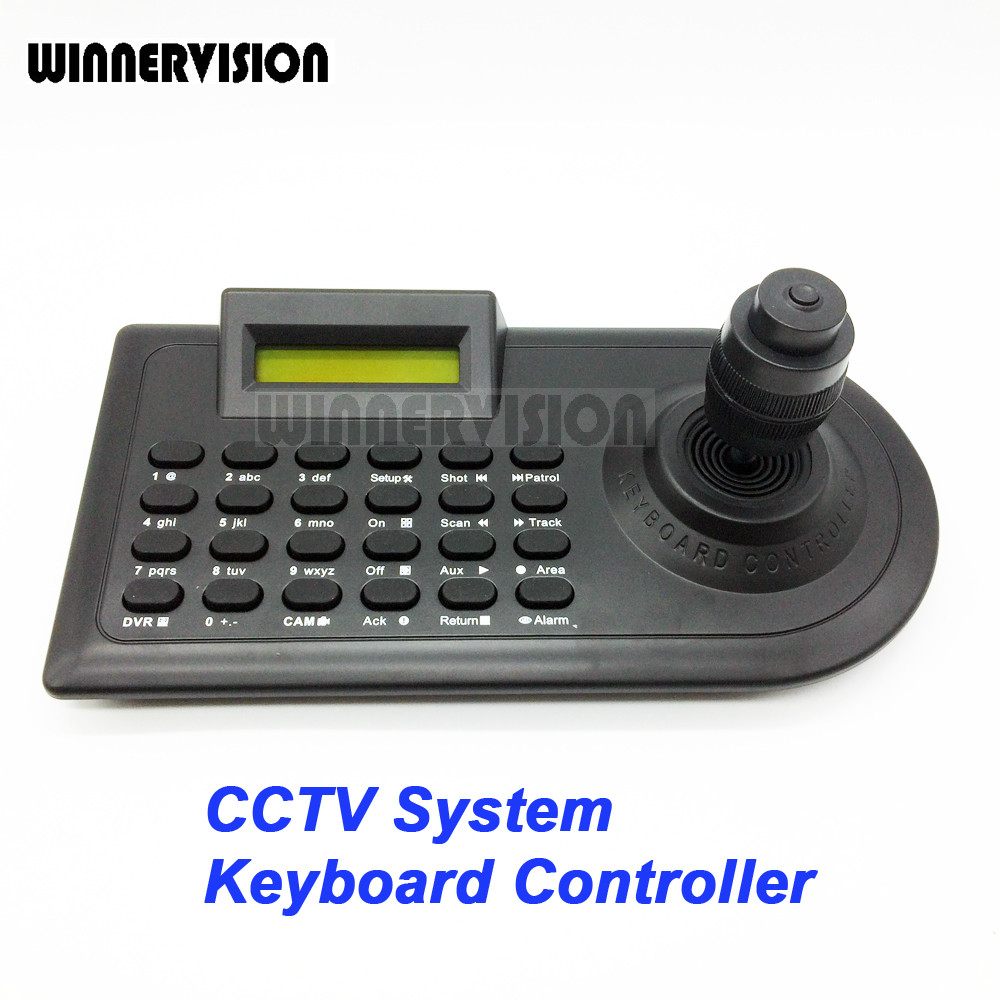 4 Axis 4KD Joystick CCTV Keyboard Controllers for Analog AHD PTZ Speed Dome Camera Support Pelco-D Pelco P protocol via RS485 laptop keyboard for hp for envy 4 1014tu 4 1014tx 4 1015tu 4 1015tx 4 1018tu backlit northwest africa 692759 fp1 mp 11m6j698w