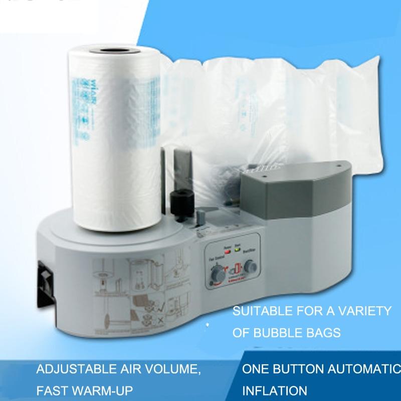 Air Pillow Cushion Bubble Packaging Wrap Maker Machine  Air Pack 1000 + Film