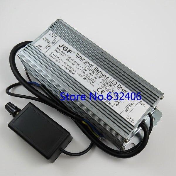 Ip67 étanche 100 W Dimmable courant Constant LED Driver avec gradateur, Ac à DC30V-36V 0-3A