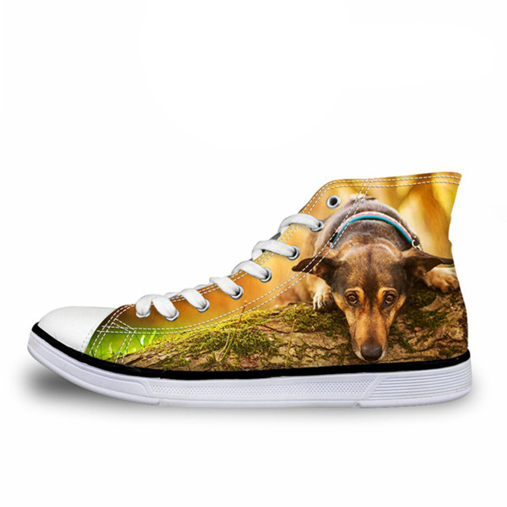 Popular animal dog bulldog with roses Classic Canvas shoes Slip On Skate Sneakers women Fashion Print Original Durable shoe
