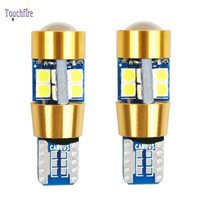 100PCS T10 W5W 194 Canbus Car Bulb 19LED Clearance Auto Interior Side Marker Wedge Light Wholesale Dropship Ice Blue White Red