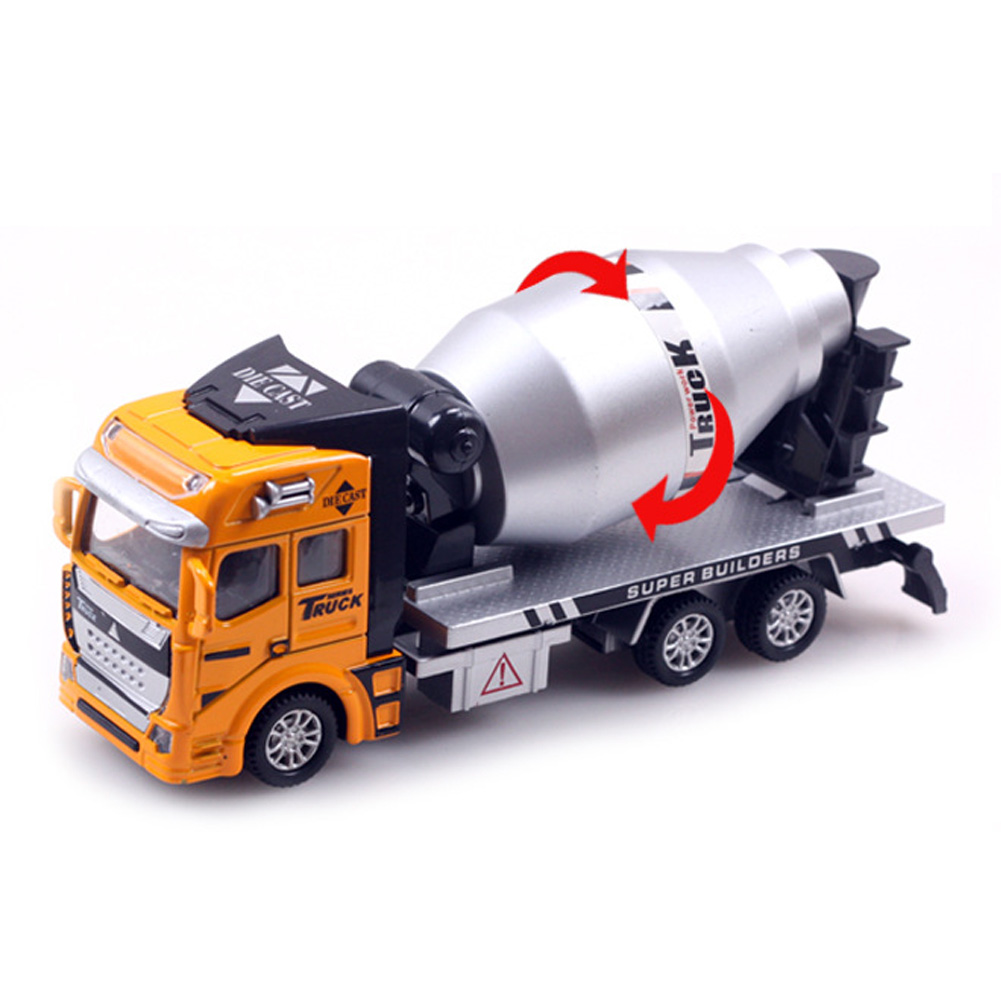 Pull Back Car Vehicle font b Toy b font For Boy Engineering Car Dump Truck Artificial
