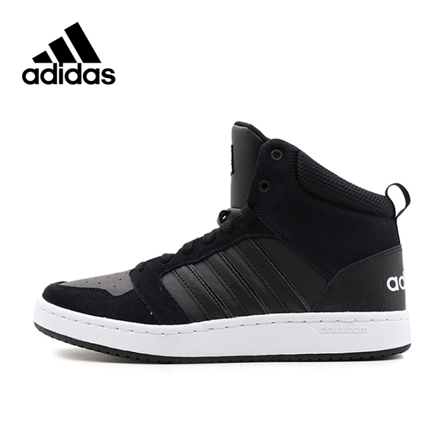 New Arrival Official Adidas NEO CF SUPER HOOPS MID Unisex Anti Slippery  Skateboarding Shoes Sports Sneakers-in Skateboarding from Sports    Entertainment on ... 4cce702671