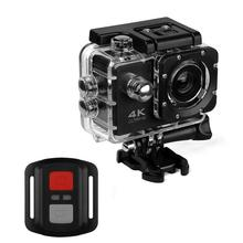 Супер горячая Распродажа Экшн-камера H9R/H9 Ultra HD 4K WiFi дистанционное управление спортивная видеокамера DVR DV go Водонепроницаемая профессиональная камера