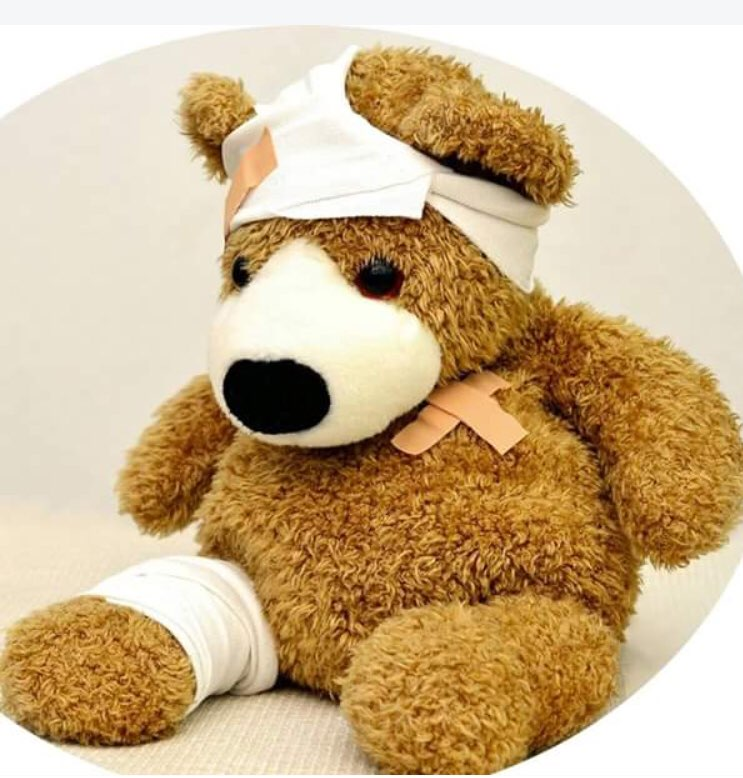 Customize Cloth for bear as this picture hurt bear