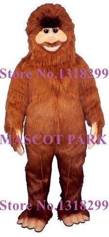 Gros pied mascotte Costume Bigfoot thème Anime Cosplay costumes carnaval fantaisie robe Fursuit Kits pour shool