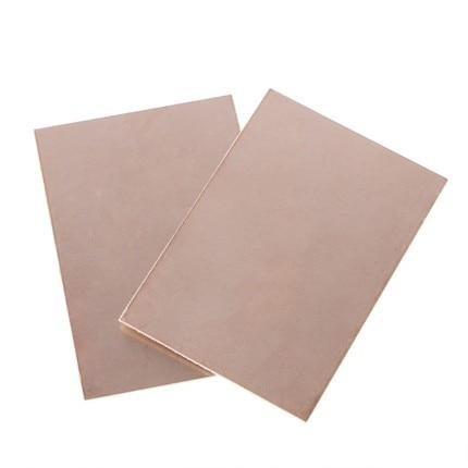 5 шт. / Лот FR4 PCB 7x10 см 7 * 10 односторонняя медная плакированная пластина DIY PCB Kit ламинатная плата в наличии