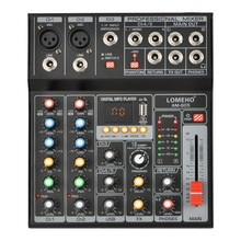 Audio-Mixer Record Guitar-Input Bluetooth Professional 4-Channels Playback 1-Stereo USB