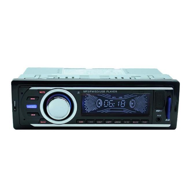 Buena Venta de Car Audio Estéreo En el Tablero de FM Receptor de Entrada Aux SD USB MP3 Radio de Agosto 8