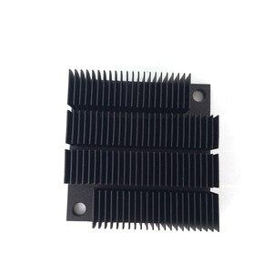 Image 5 - Disipador de calor de aluminio radiador para Chip electrónico LED RAM refrigerador 40*40*12,7mm de aluminio de alta calidad YL 0030