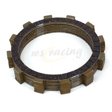 8 Pcs Motorcycle Engine Parts Clutch Friction Plates Fit For YAMAHA XJR400 XJR400R FJ600 FZ600 XJ600S YX600 XJ650 FZX700 XJ700