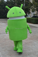 Professional New Android Robot Mascot Costume Fancy Dress Adult Size
