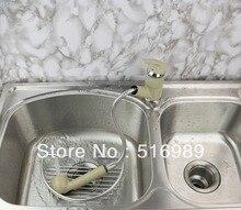 Бесплатная доставка вытащить и поворотный кран для кухни и ванной leon3