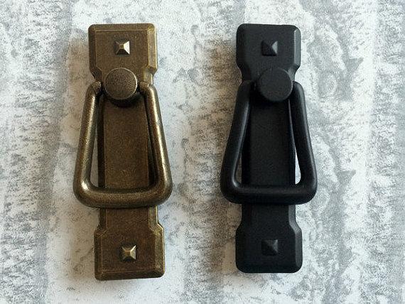 Black Kitchen Drawer Pulls online get cheap black kitchen ring drawer pull -aliexpress