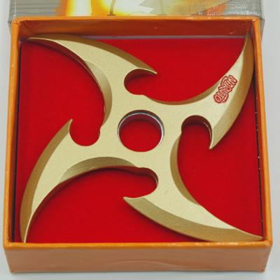 Naruto- Fuhma Shuriken Weapon (Gold/Silver)