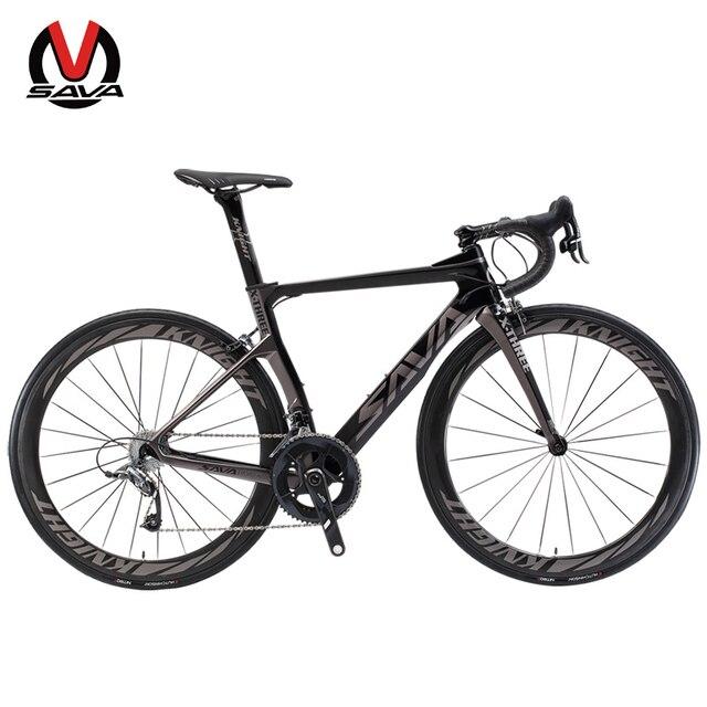 SAVA шоссейный велосипед из углеродного волокна шоссейный велосипед Professional Велоспорт шоссейный велосипед карбоновый велосипед в комплекте с SRAM Group FORCE 22 speed