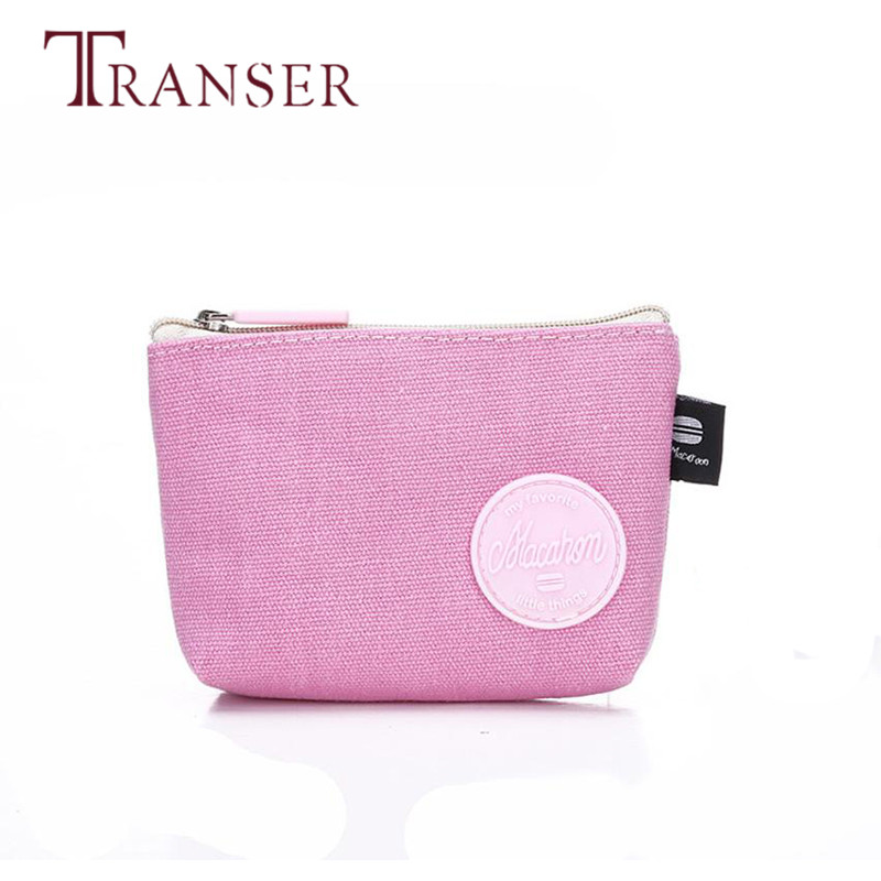 TRANSER Women Girls Cute Fashion Coin Purse Wallet Bag Change Pouch Key Holder  Slim Zipper Famous Design High Quality Aug17