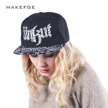 SnapBack Cap mujeres gorra de béisbol casquette DE MARQUE gorras planas hip  hop SnapBack gorras sombreros para las mujeres sombreros sombrero casual  para ... 22b33eda9bd