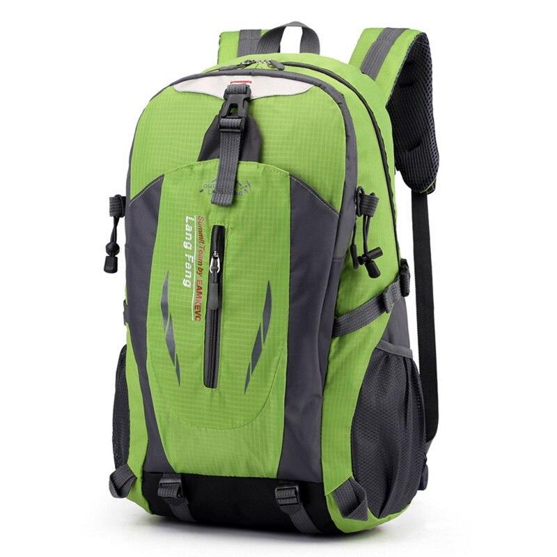 40L Outdoor Bags Sports Travel Mountaineering Backpack Camping Hiking Trekking Rucksack Travel Waterproof Bike Shoulder Bags
