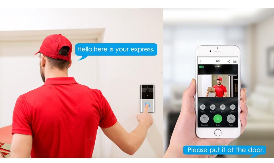 Marlboze Visual-Doorbell Wireless Intercom