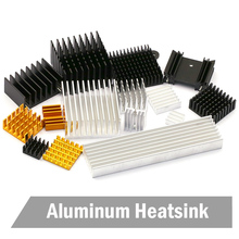 цена на 2 PCS Cooler Accessories 40mm Heatsink 40x40x20mm IC Heat Sink Aluminum Cooling Fin Fan
