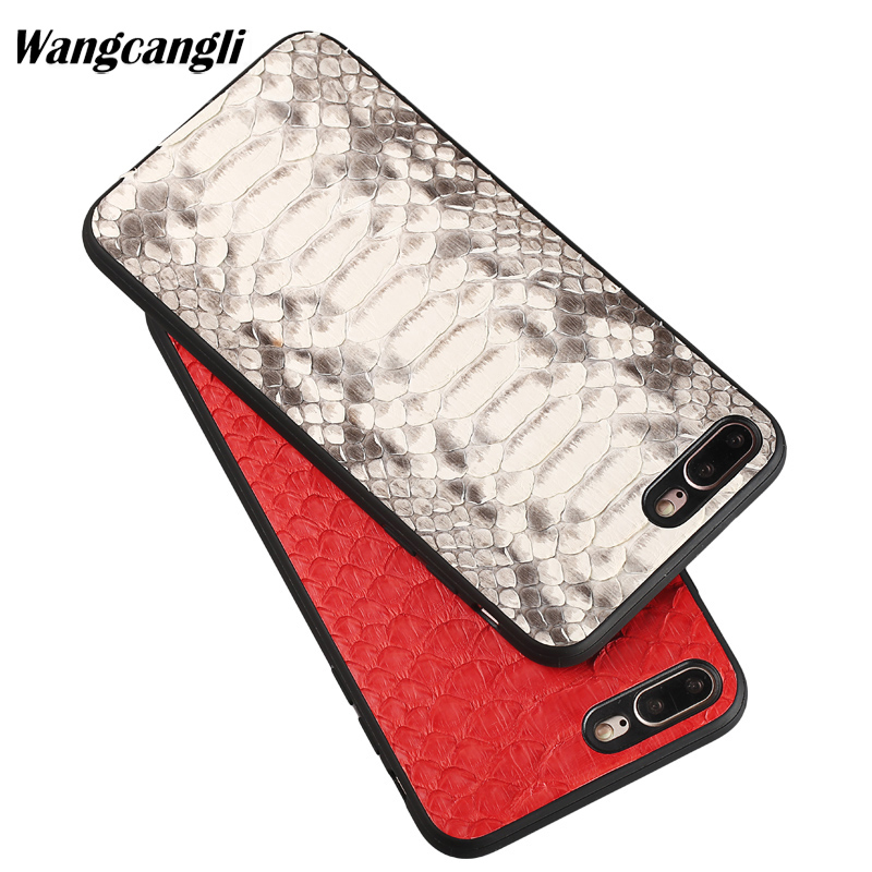 Wangcangli Luxury python skin all-inclusive phone case for iPhone 7 plus phone case New phone case for iPhone 5 5s 6 6s 7 8Wangcangli Luxury python skin all-inclusive phone case for iPhone 7 plus phone case New phone case for iPhone 5 5s 6 6s 7 8