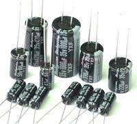 RUBYCON YXF Series Electrolytic Capacitor Assorted Kit Long Life Low Impedance
