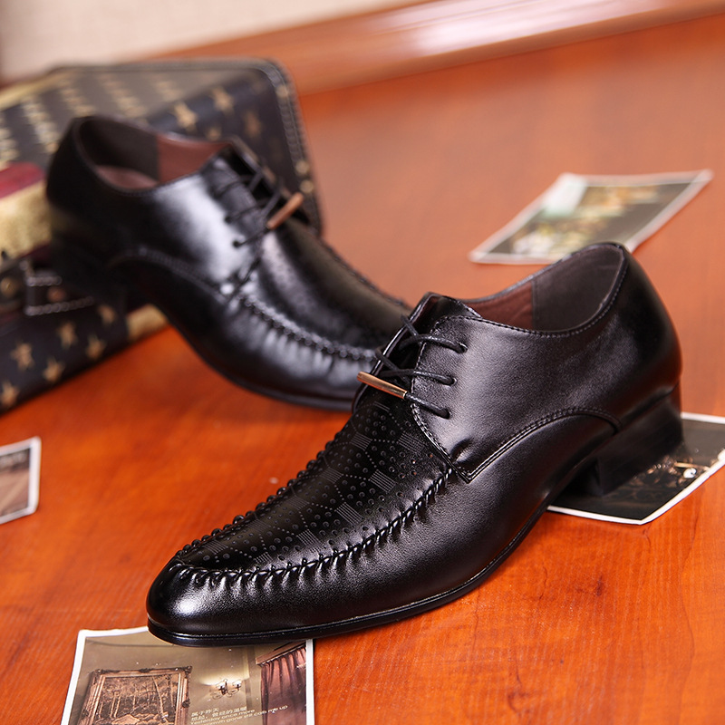 2016 Limited Promotion Medium b m font b Oxford b font Shoes For A Man On