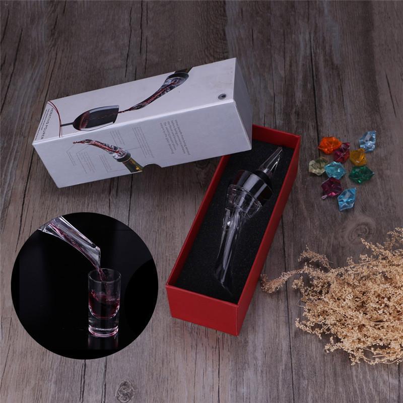 1 Set Acryl Beluchten Schenker Decanter Wijn Beluchter Tuit Pourer Nieuwe Draagbare Wijn Beluchter Schenker Wijn Accessoires