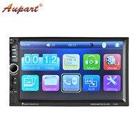 2 din car radio autoradio 7 inch touch screen car multimidia USB bluetooth FM auto video player mp4 mp5 for car stereos 2 din