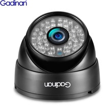GADINAN Full HD 3MP 2048*1536 960P 720P POE Dome Security 2.8mm Camera IP Wired Outdoor Vandalproof 1080P Real Time 25fps Onvif