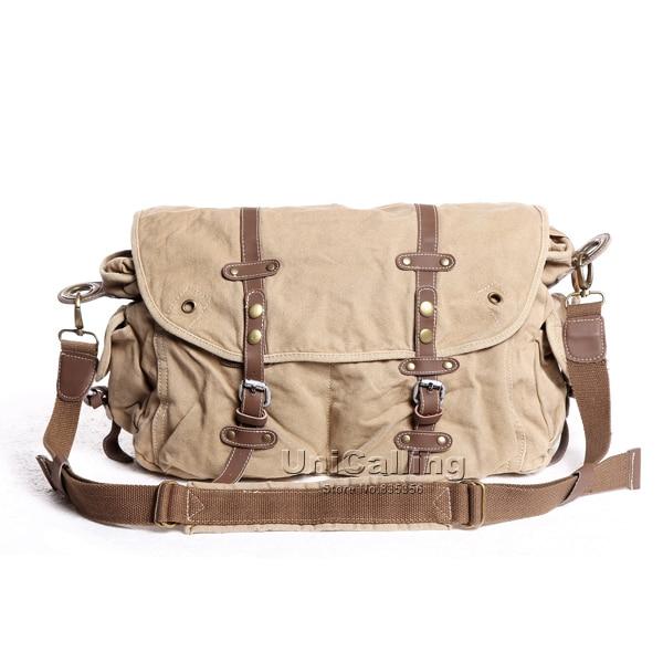 ФОТО Brand casual canvas shoulder messenger bag