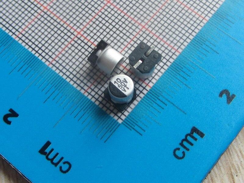 50pcs/lot high Quality SMD Aluminum Electrolytic Capacitor 50V 10UF 5*5.4MM electrolytic capacitor 10uf