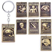 One Piece Wanted Poster Keychain