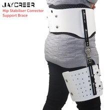JayCreer Hip Fissazione Brace Ortesi di Estensione Stent Coscia Fratture Correttiva Equipaggiamento Protettivo Supporto Misura la Vita di Formato Max 114 CENTIMETRI