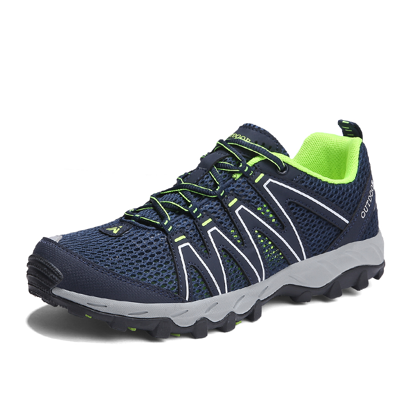 Super Cool breathable running shoes men sneakers bounce summer outdoor sport shoes Professional Training shoes zapatillas