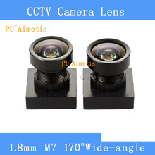 PU`Aimetis CCTV 1.8mm Lens 170degree wide angle M7*0.5 for CCTV Security Mini camera