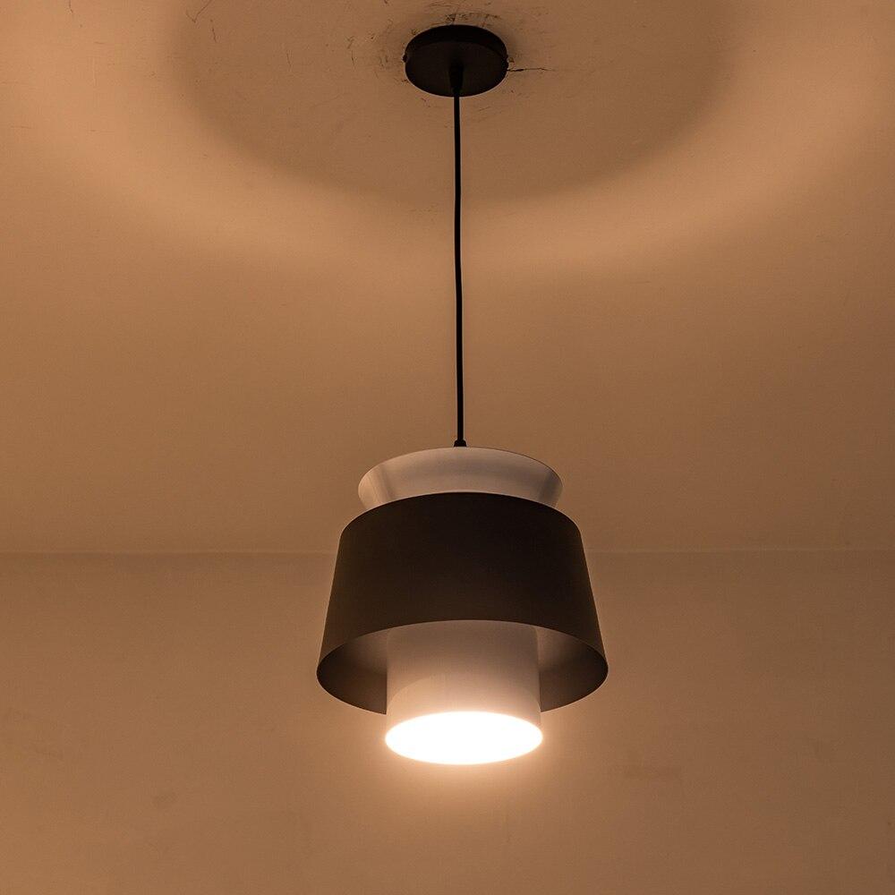 Style rétro industriel Restaurant cuisine led cordon pendentif lumière Vintage lampes suspendues abat-jour pour café salle à manger