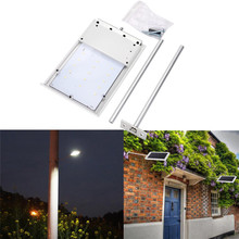 New 15LED Ultra-thin Waterproof Solar Sensor Wall Street Light Outdoor Garden Outdoor Bicycle Accessories High Quality Sep 5