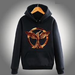 [XHTWCY] The Hunger Games 3 jacket Phoenix the secular bird Hoody Hoodie KEEP CALM and stay alive sweatshirt