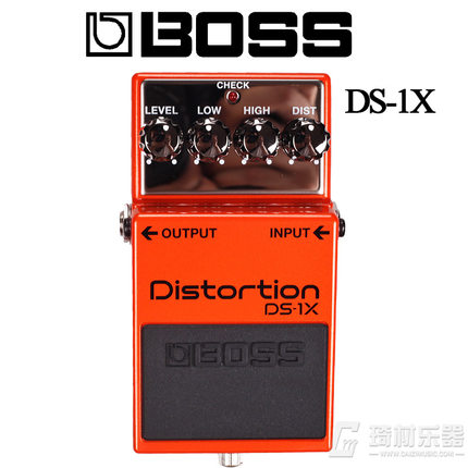 Boss Audio DS-1X Distortion Guitar Distortion Stompbox Effect with MDP (Multi-Dimensional Processing)