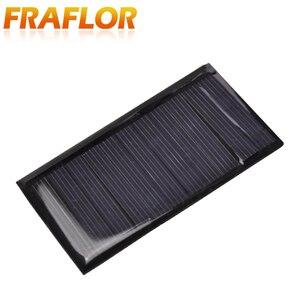 Image 5 - Fraflor Panel Solar portátil para cargador de batería, 10 Uds., 0,42 W, 5,5 V, 80x45x3mm, envío gratis, fuente de alimentación de emergencia de células solares