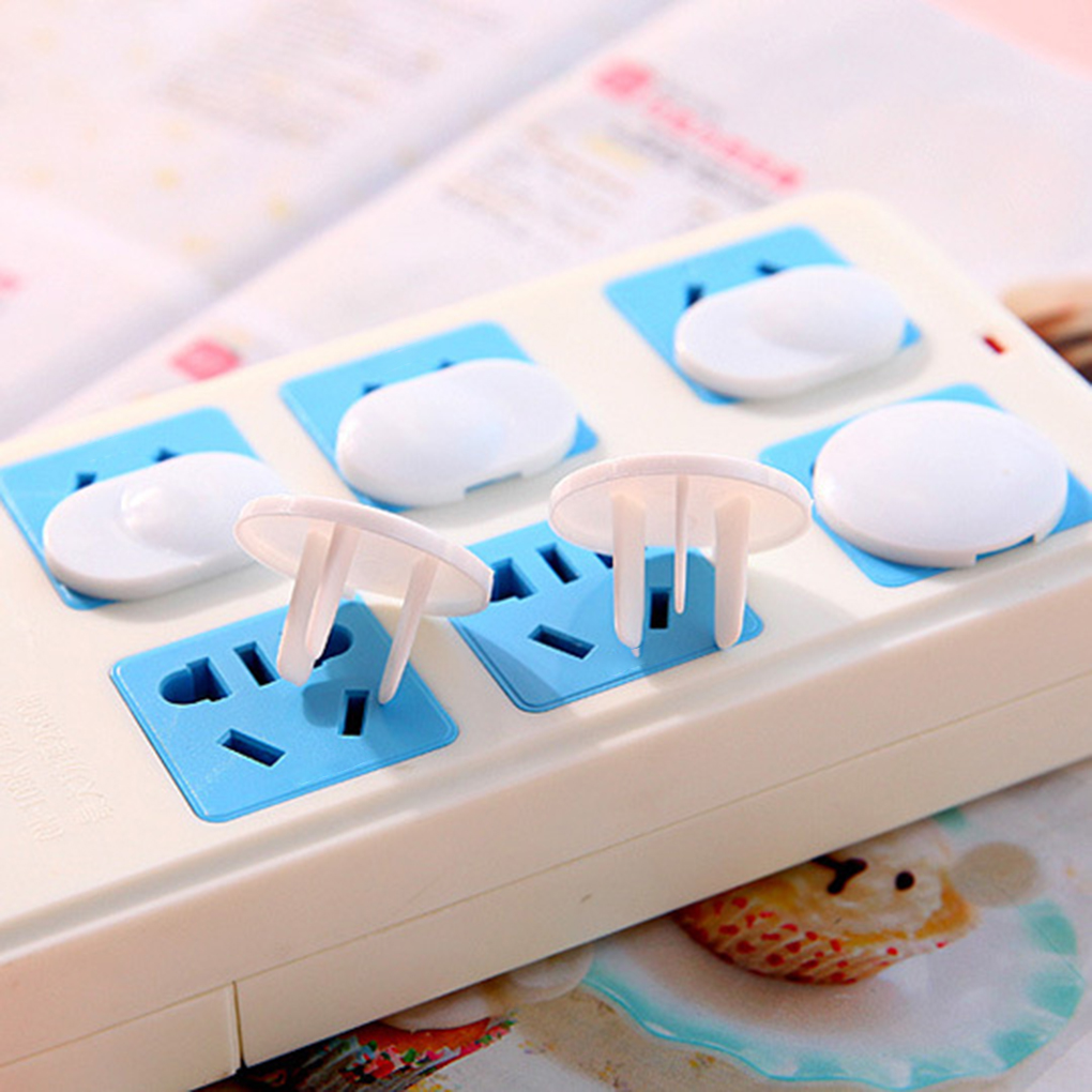 2019 New 20pcs/set White Safety Child Baby Proof Electric Outlet Protector Anti-electric Socket Resin Cover